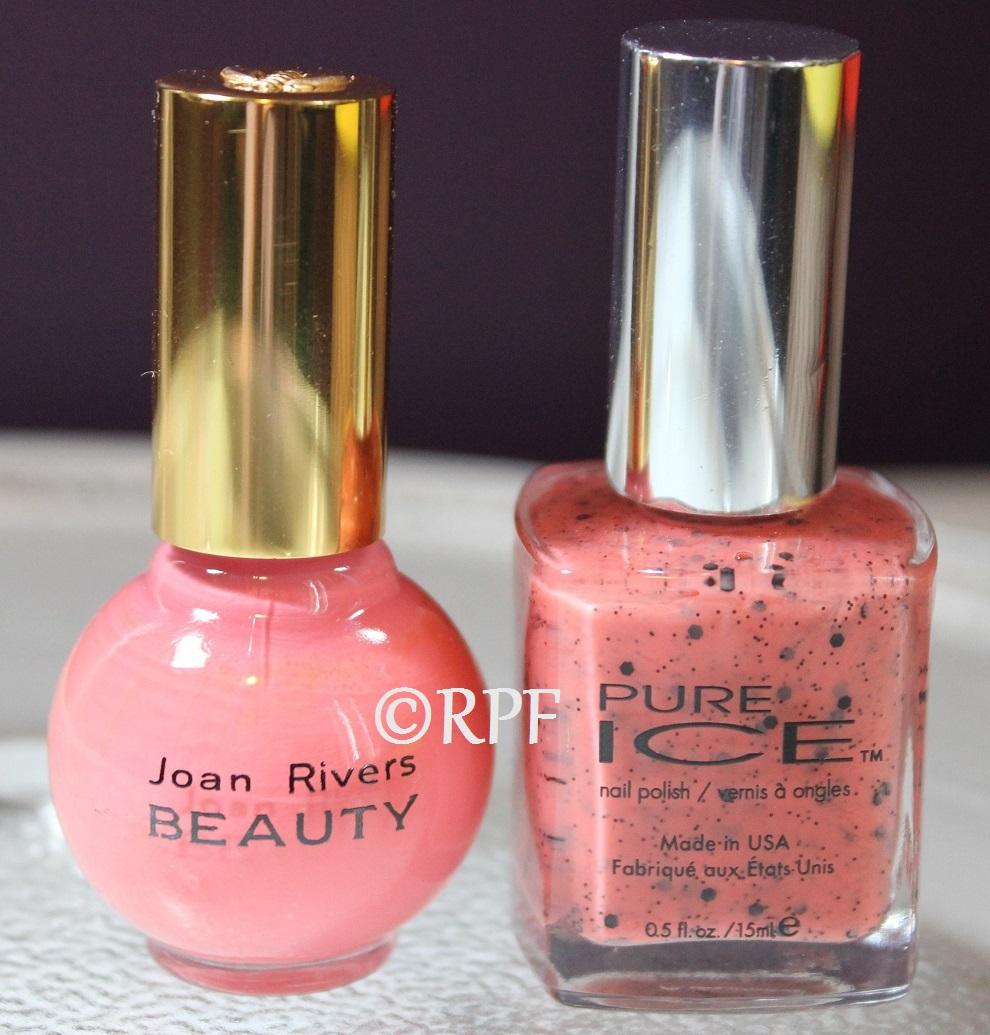 Joan Rivers Beauty Coral with Pure Ice Orange Sorbet – RealPolishFanatic