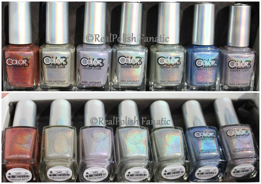 Color Club Halo Hues 2015 - Swatches and Comparisons