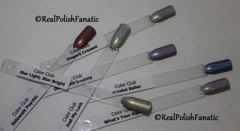 Color Club Halo Hues 2015 - Comparison