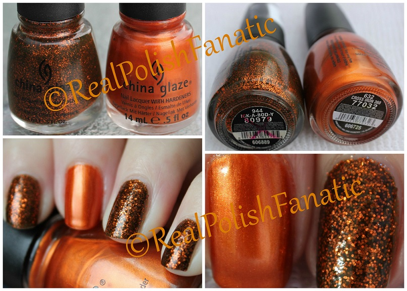 China Glaze Ick-a-bod-y & China Glaze Cross Iron 360 (10)