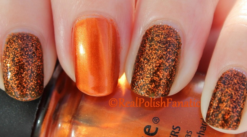 China Glaze Ick-a-bod-y & China Glaze Cross Iron 360 (3)