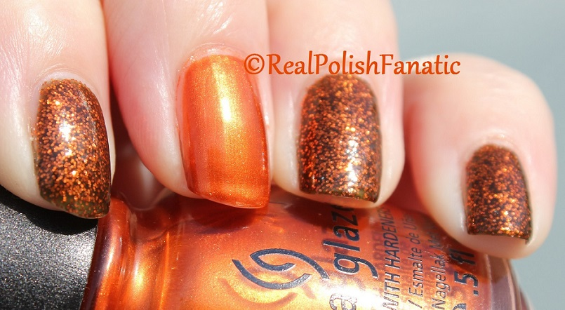 China Glaze Ick-a-bod-y & China Glaze Cross Iron 360 (5)