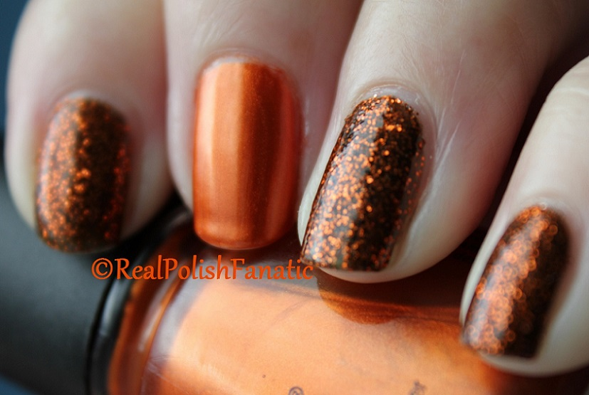 China Glaze Ick-a-bod-y & China Glaze Cross Iron 360 (6)