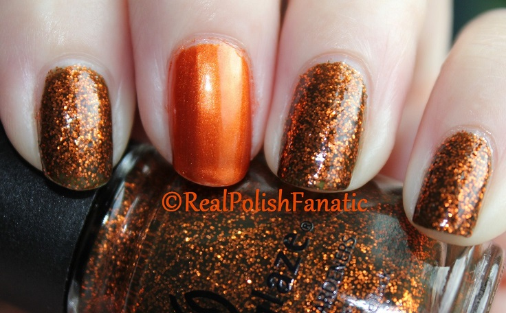 China Glaze Ick-a-bod-y & China Glaze Cross Iron 360 (7)