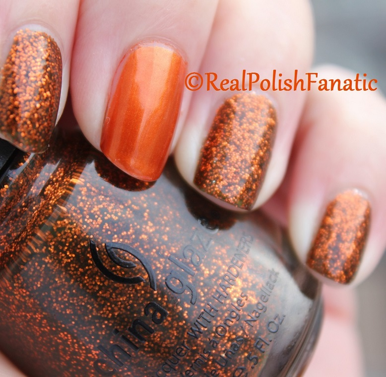 China Glaze Ick-a-bod-y & China Glaze Cross Iron 360 (9)