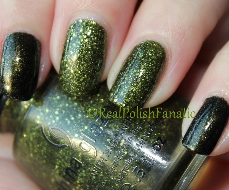 China Glaze It's Alive & China Glaze Cast A Spell (2)