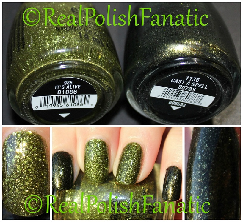 China Glaze It's Alive & China Glaze Cast A Spell (5)