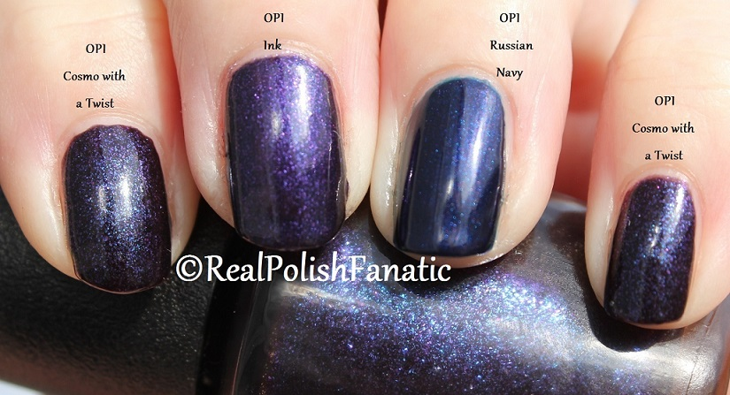 Comparison -- OPI Russian Navy, Cosmo With A Twist, Ink (3)