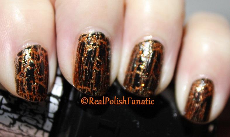 Sally Hansen Sparktacular & OPI Black Shatter (1)