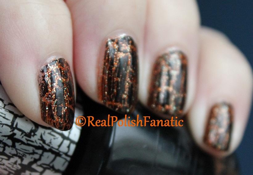 Sally Hansen Sparktacular & OPI Black Shatter (5)