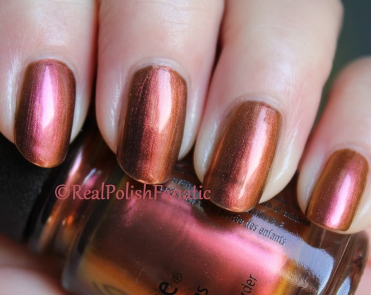 Chanel Troublante vs. China Glaze Cabin Fever