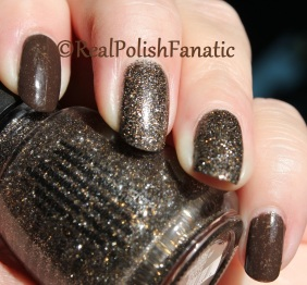 China Glaze - Lug Your Designer Baggage & China Glaze - Boundary of Memory