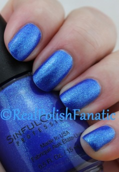 Sinful Colors - Blue By You