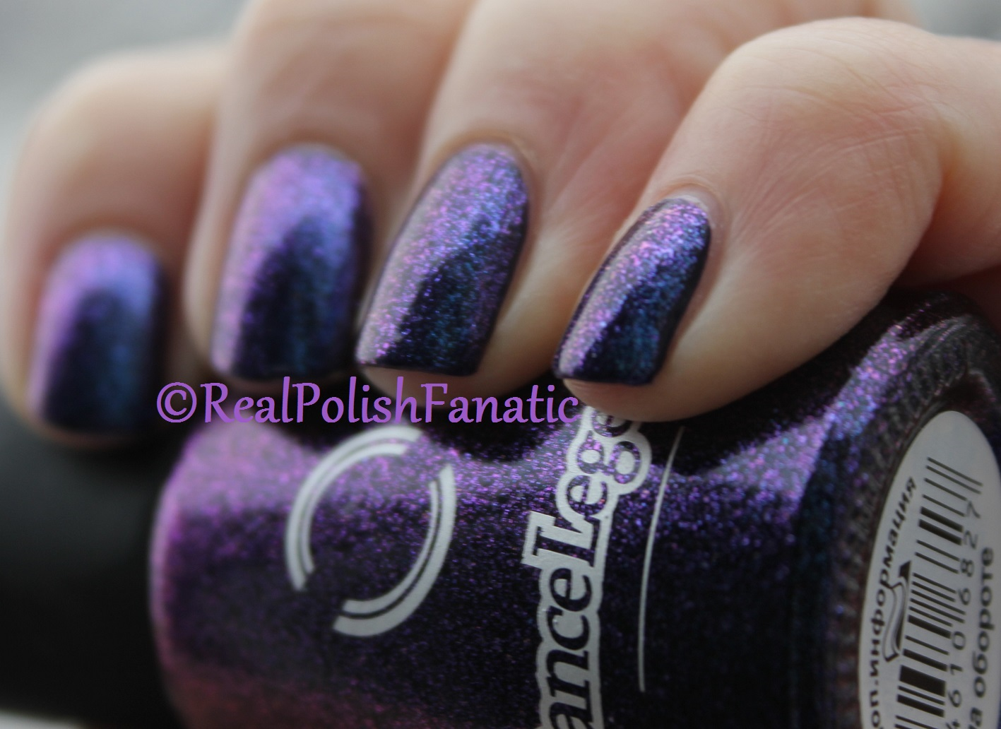 Dance Legend – Top For Dark Polish #608 over OPI – Sapphire In The ...