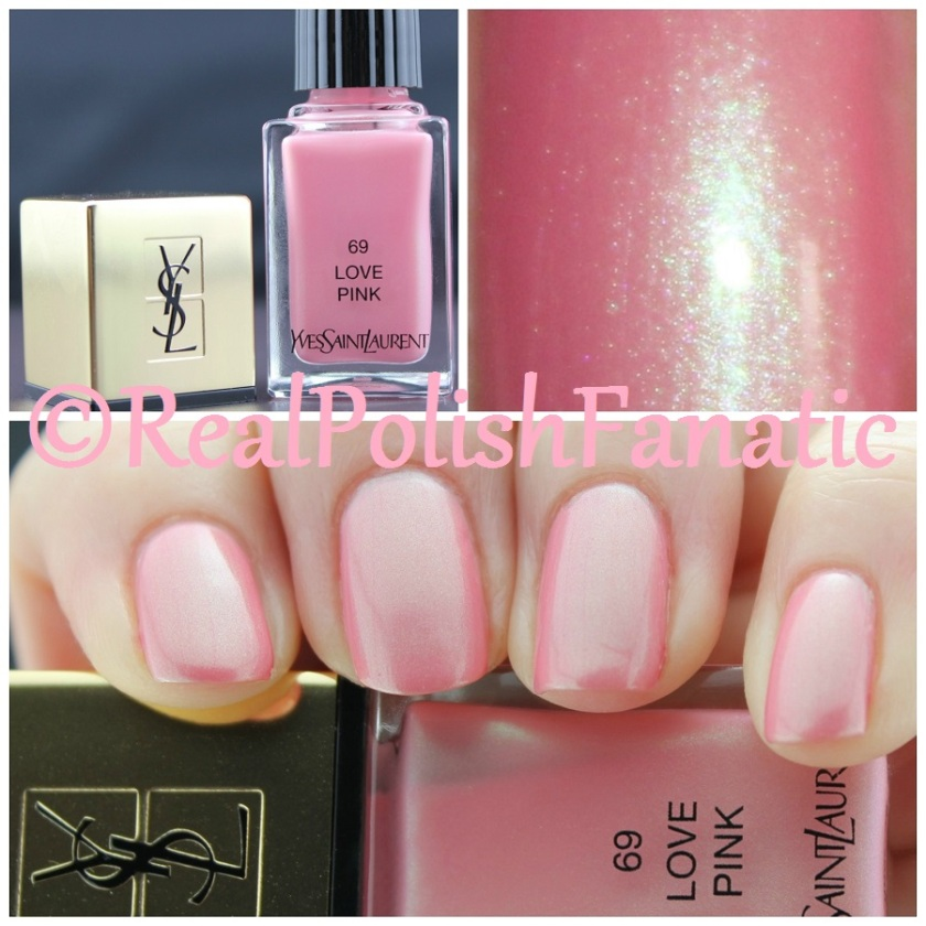 Yves Saint Laurent (YSL) Spring 2016 - Love Pink #69
