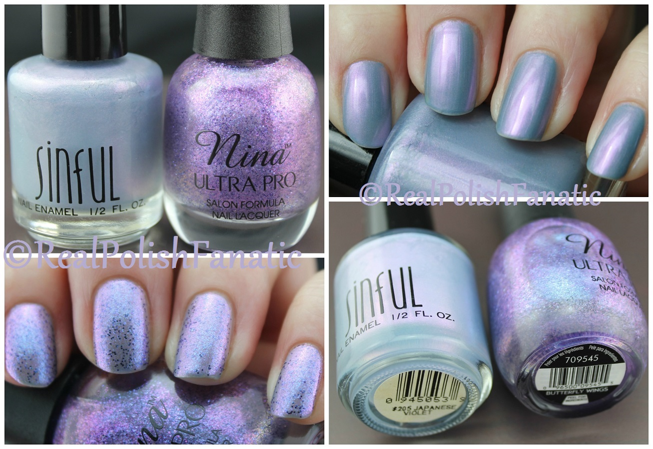 Sinful Colors – Japanese Violet & Nina Ultra Pro – Butterfly Wings ...