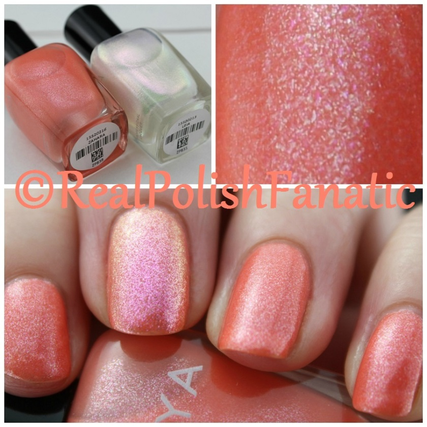 03-14-2016 Zoya - Zahara & Leia - Spring 2016 Petals Collection