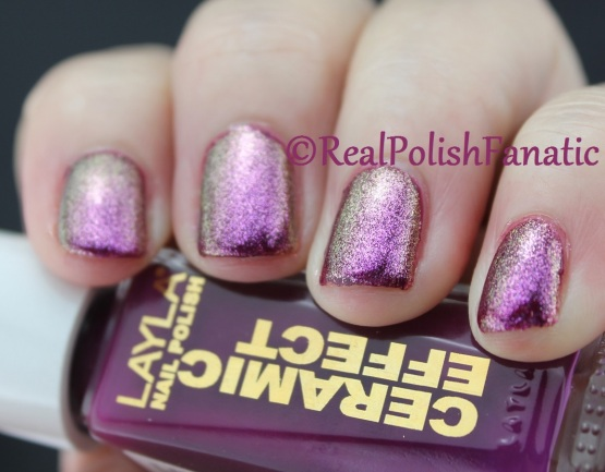 Layla - Ceramic Effect 22 Tuscany Grapes & Zoya - Leia