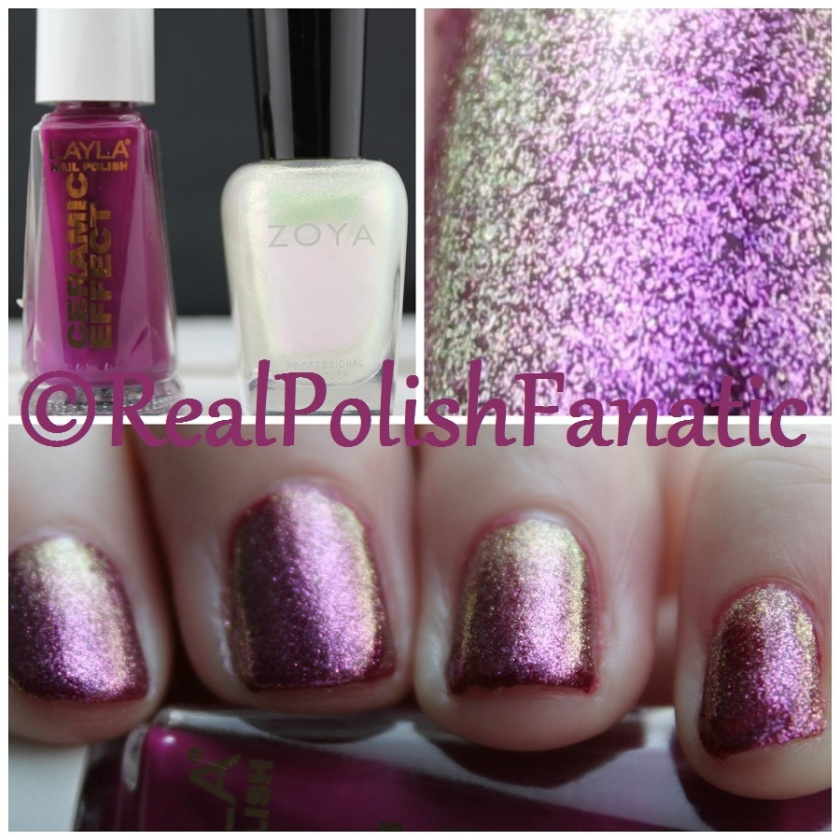 04-01-2016 Layla - Ceramic Effect 22 Tuscany Grapes & Zoya - Leia