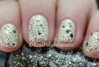 Sally Hansen - Pink Slip & Golden Rule & Spark in the Dark