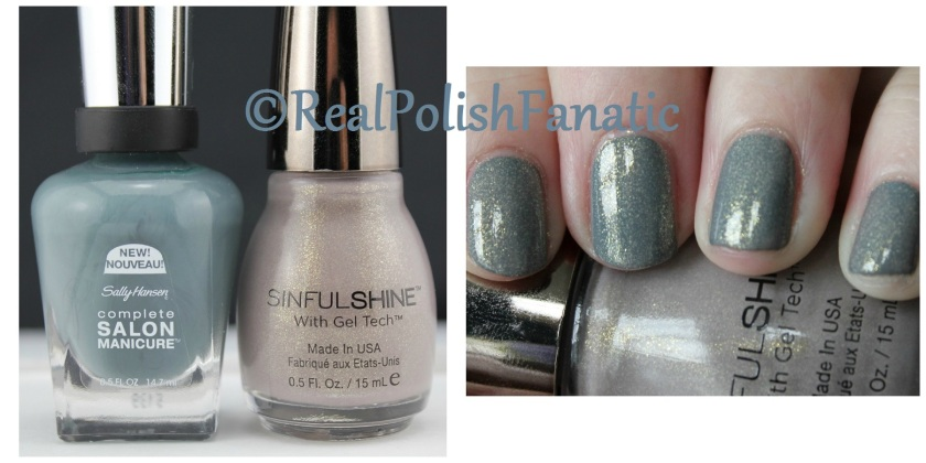 04-11-2016 Sally Hansen - Bow To The Queen & Sinful Shine - Prosecco