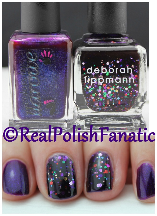 04-22-2016 Colors by Llarowe - Purple Rain & Deborah Lippmann - Let's Go Crazy
