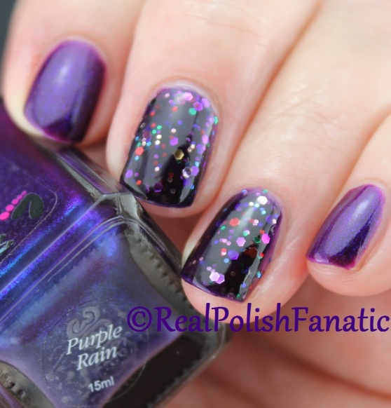 Colors by Llarowe - Purple Rain & Deborah Lippmann - Let's Go Crazy