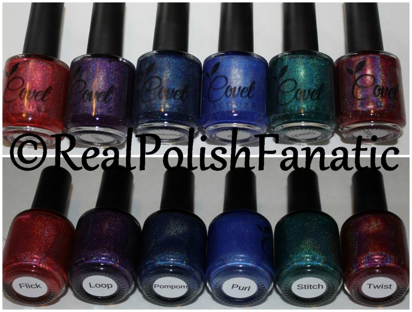 04-22-2016 Covet Lacquer - The Unravelled Collection