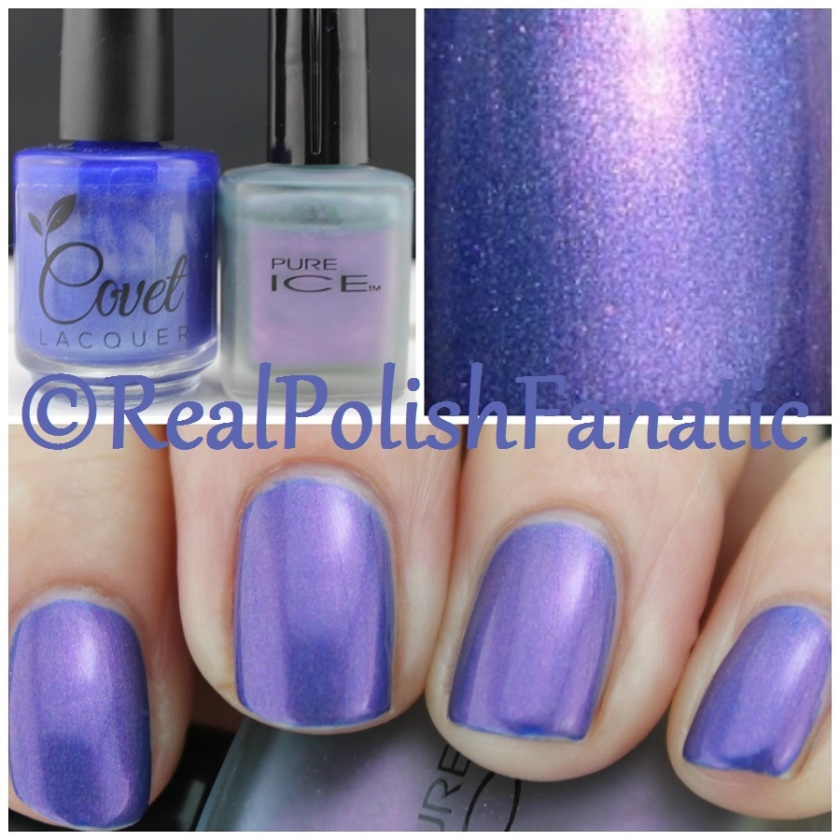 04-25-2016 Covet Lacquer - Purl & Pure Ice - Frosted Ice Wild Orchid
