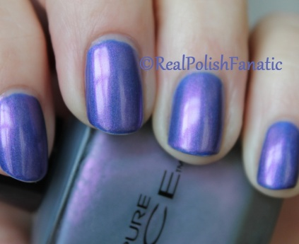 Covet Lacquer - Purl & Pure Ice - Frosted Ice Wild Orchid