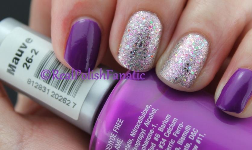 China Glaze - Full Spectrum & Billie Cosmetics - Mauve