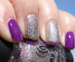 China Glaze - Full Spectrum & Billie Cosmetics - Mauve