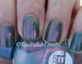 Covet Lacquer - Stitch & Sally Hansen - Let's Get Digital