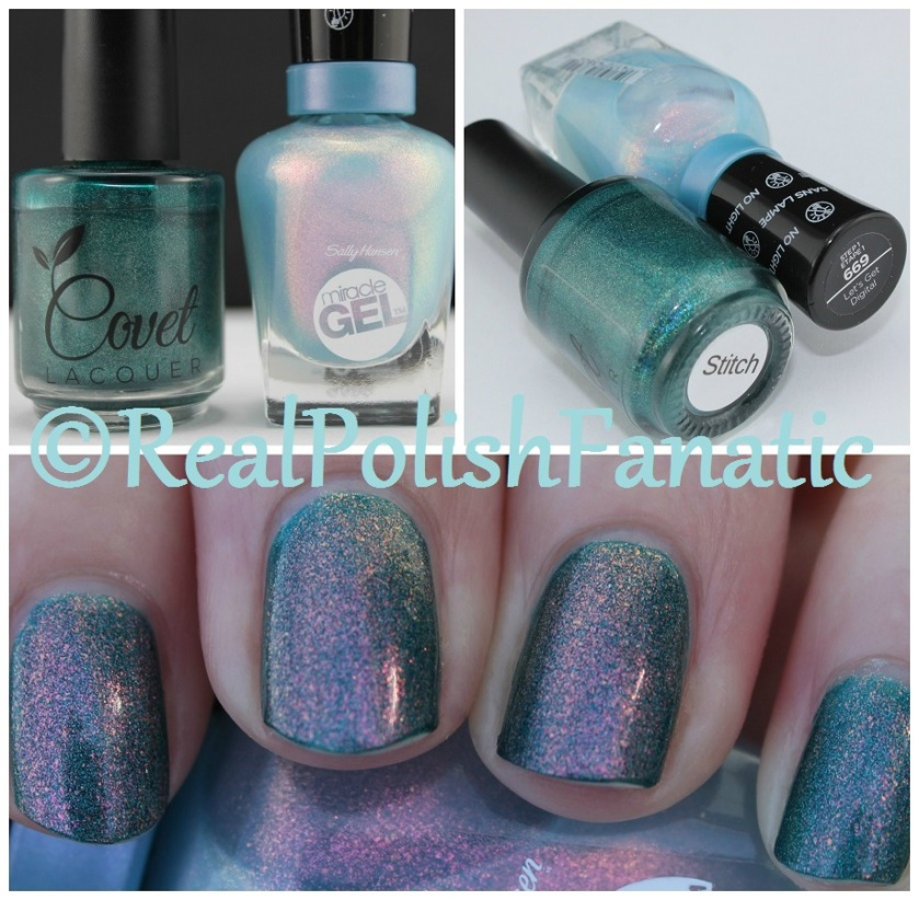05-07-2016 Covet Lacquer - Stitch & Sally Hansen - Let's Get Digital