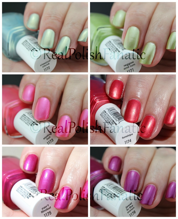 "05-10-2016 Essie Summer 2016 Tropical Lights Collection ""Fun Ships"""