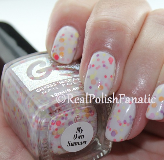 OPI - Chiffon My Mind & Gloss 'N Sparkle - My Own Summer