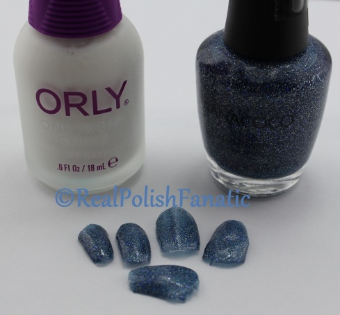 Nanacoco - Fly To The Galaxy & Orly One Night Stand Peel Off Base Coat