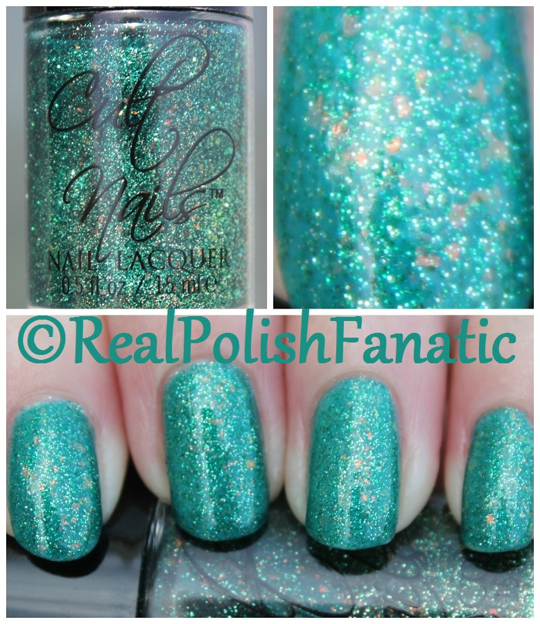 07-20-2016 Cult Nails - Toxic Seaweed
