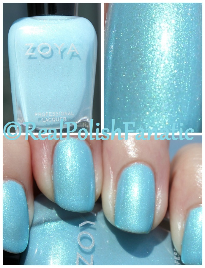 07-22-2016 Zoya - Rayne // Spring 2015 Delight Collection