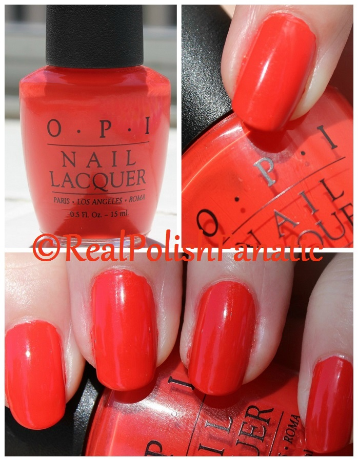 09-15-2016 OPI - 100° in the Shade // 1998 Painted Desert Collection
