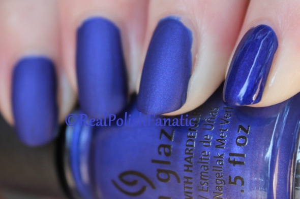 China Glaze - Combat Blue-Ts // Fall 2016 Rebel Collection