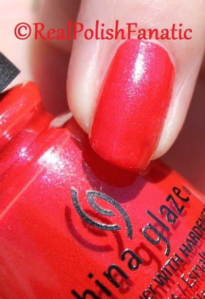 China Glaze - Y'all Red-y For This? // Fall 2016 Rebel Collection