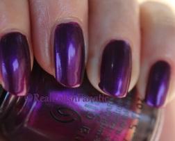 China Glaze - Purple Fiction // Fall 2016 Rebel Collection