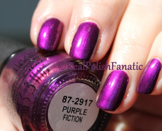 China Glaze - Purple Fiction // Fall 2016 Rebel Collection