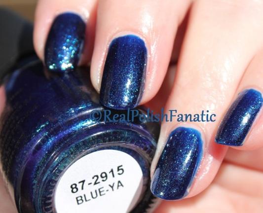 China Glaze - Blue-Ya // Fall 2016 Rebel Collection