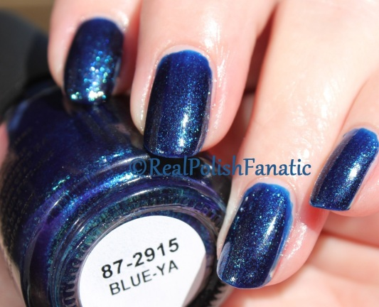 China Glaze - Blue-Ya // Fall 2016 Rebel Collection