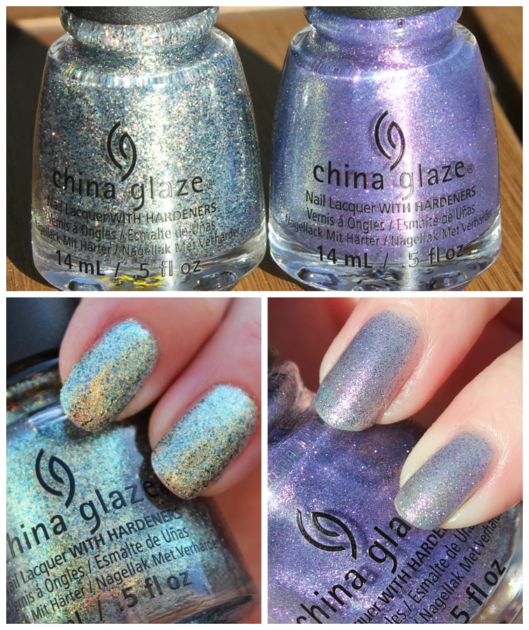 China Glaze - Holo At Ya Girl! & Don't Mesh With Me // Fall 2016 Rebel Collection