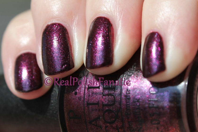 OPI - Rich & Brazilian // Holiday 2016 Breakfast at Tiffany's Collection