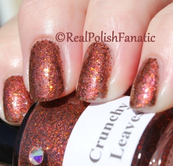 Girly Bits - Crunchy Leaves // 2012 Calendar Girls Collection