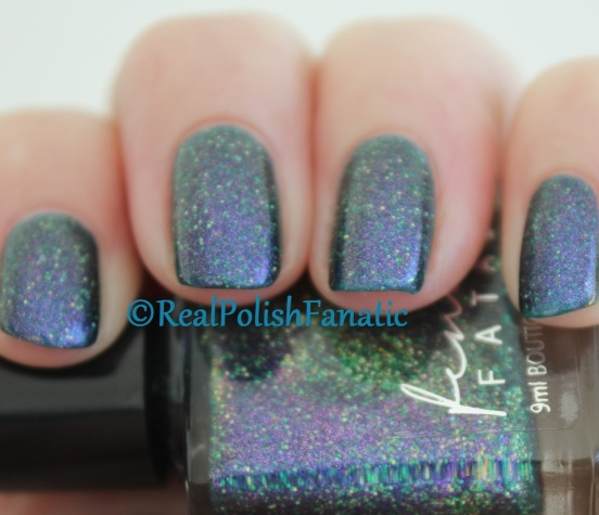 Femme Fatale - Feel the Teal // October 2016 HHC Custom
